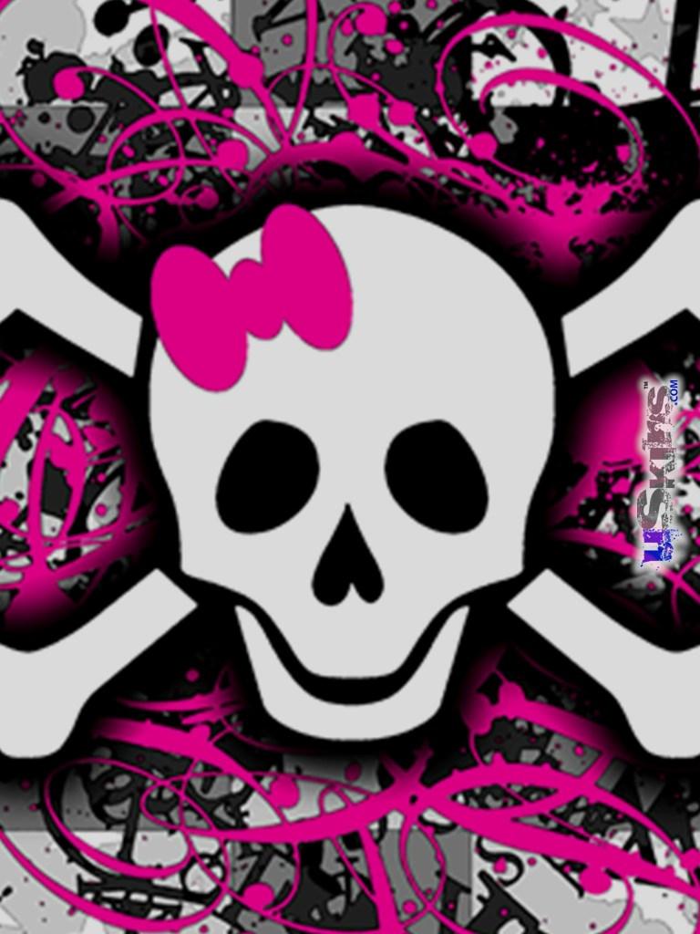 pics photos girly skulls image