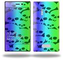 Rainbow Skull Collection - Decal Style Skin (fits Nokia Lumia 928)