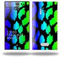 Rainbow Leopard - Decal Style Skin (fits Nokia Lumia 928)