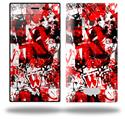 Red Graffiti - Decal Style Skin (fits Nokia Lumia 928)