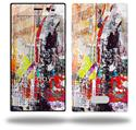 Abstract Graffiti - Decal Style Skin (fits Nokia Lumia 928)