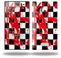 Checkerboard Splatter - Decal Style Skin (fits Nokia Lumia 928)