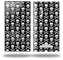 Skull and Crossbones Pattern - Decal Style Skin (fits Nokia Lumia 928)