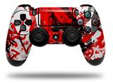 Vinyl Skin Wrap for Sony PS4 Dualshock Controller Red Graffiti (CONTROLLER NOT INCLUDED)
