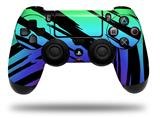 WraptorSkinz Skin compatible with Sony PS4 Dualshock Controller PlayStation 4 Original Slim and Pro Tiger Rainbow (CONTROLLER NOT INCLUDED)