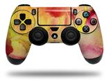 WraptorSkinz Skin compatible with Sony PS4 Dualshock Controller PlayStation 4 Original Slim and Pro Painting Yellow Splash (CONTROLLER NOT INCLUDED)