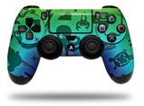 Vinyl Skin Wrap for Sony PS4 Dualshock Controller Cute Rainbow Monsters (CONTROLLER NOT INCLUDED)
