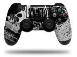 WraptorSkinz Skin compatible with Sony PS4 Dualshock Controller PlayStation 4 Original Slim and Pro Urban Skull (CONTROLLER NOT INCLUDED)