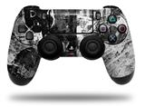 Vinyl Skin Wrap for Sony PS4 Dualshock Controller Graffiti Grunge Skull (CONTROLLER NOT INCLUDED)