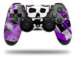 Vinyl Skin Wrap for Sony PS4 Dualshock Controller Purple Princess Skull (CONTROLLER NOT INCLUDED)