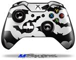 Deathrock Bats - Decal Style Skin fits Microsoft XBOX One Wireless Controller