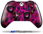 Pink Distressed Leopard - Decal Style Skin fits Microsoft XBOX One Wireless Controller