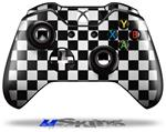 Checkers White - Decal Style Skin fits Microsoft XBOX One Wireless Controller
