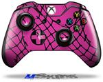 Decal Skin Wrap fits Microsoft XBOX One Wireless Controller Ripped Fishnets Pink