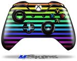 Decal Skin Wrap fits Microsoft XBOX One Wireless Controller Stripes Rainbow