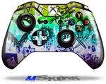 Decal Skin Wrap fits Microsoft XBOX One Wireless Controller Scene Kid Sketches Rainbow
