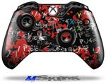 Emo Graffiti - Decal Style Skin fits Microsoft XBOX One Wireless Controller