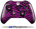Pink Zebra - Decal Style Skin fits Microsoft XBOX One Wireless Controller