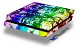 Rainbow Graffiti - Decal Style Skin fits original PS4 Gaming Console