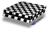 Checkers White - Decal Style Skin fits original PS4 Gaming Console
