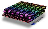 Skull and Crossbones Rainbow - Decal Style Skin fits original PS4 Gaming Console