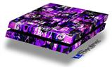 Purple Graffiti - Decal Style Skin fits original PS4 Gaming Console
