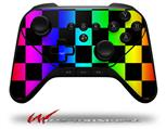 Rainbow Checkerboard - Decal Style Skin fits original Amazon Fire TV Gaming Controller