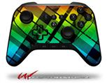 Rainbow Plaid - Decal Style Skin fits original Amazon Fire TV Gaming Controller