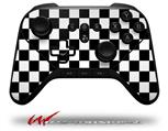 Checkers White - Decal Style Skin fits original Amazon Fire TV Gaming Controller