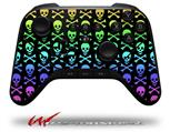 Skull and Crossbones Rainbow - Decal Style Skin fits original Amazon Fire TV Gaming Controller