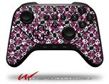 Splatter Girly Skull Pink - Decal Style Skin fits original Amazon Fire TV Gaming Controller