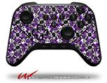 Splatter Girly Skull Purple - Decal Style Skin fits original Amazon Fire TV Gaming Controller