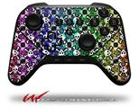 Splatter Girly Skull Rainbow - Decal Style Skin fits original Amazon Fire TV Gaming Controller