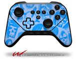 Skull Sketches Blue - Decal Style Skin fits original Amazon Fire TV Gaming Controller