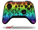 Cute Rainbow Monsters - Decal Style Skin fits original Amazon Fire TV Gaming Controller