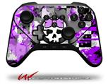Purple Princess Skull - Decal Style Skin fits original Amazon Fire TV Gaming Controller