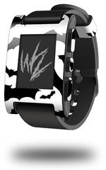 Deathrock Bats - Decal Style Skin fits original Pebble Smart Watch (WATCH SOLD SEPARATELY)