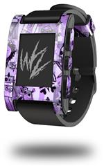 Scene Kid Sketches Purple - Decal Style Skin fits original Pebble Smart Watch (WATCH SOLD SEPARATELY)