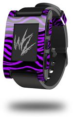 Purple Zebra - Decal Style Skin fits original Pebble Smart Watch (WATCH SOLD SEPARATELY)