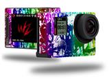 Rainbow Graffiti - Decal Style Skin fits GoPro Hero 4 Silver Camera (GOPRO SOLD SEPARATELY)