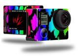 Rainbow Leopard - Decal Style Skin fits GoPro Hero 4 Silver Camera (GOPRO SOLD SEPARATELY)