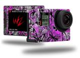Butterfly Graffiti - Decal Style Skin fits GoPro Hero 4 Silver Camera (GOPRO SOLD SEPARATELY)
