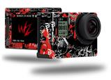 Emo Graffiti - Decal Style Skin fits GoPro Hero 4 Silver Camera (GOPRO SOLD SEPARATELY)
