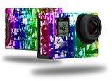 Rainbow Graffiti - Decal Style Skin fits GoPro Hero 4 Black Camera (GOPRO SOLD SEPARATELY)