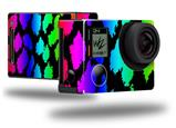 Rainbow Leopard - Decal Style Skin fits GoPro Hero 4 Black Camera (GOPRO SOLD SEPARATELY)