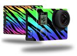 Tiger Rainbow - Decal Style Skin fits GoPro Hero 4 Black Camera (GOPRO SOLD SEPARATELY)