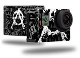 Anarchy - Decal Style Skin fits GoPro Hero 4 Black Camera (GOPRO SOLD SEPARATELY)