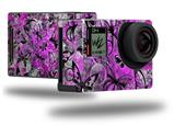 Butterfly Graffiti - Decal Style Skin fits GoPro Hero 4 Black Camera (GOPRO SOLD SEPARATELY)