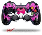 Pink Diamond Skull - Decal Style Skin fits Logitech F310 Gamepad Controller (CONTROLLER SOLD SEPARATELY)