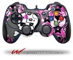 Pink Bow Skull - Decal Style Skin fits Logitech F310 Gamepad Controller (CONTROLLER SOLD SEPARATELY)
